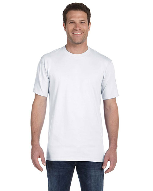 Anvil 780ALP Ringspun Midweight T-Shirt WHITE at bigntallapparel