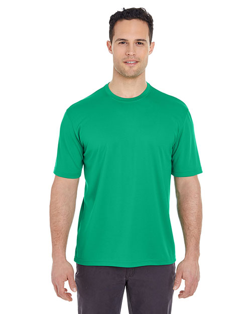 Ultraclub 8400BND   8400 ® Men's Cool & Dry Mesh Sport Tee  Kelly at bigntallapparel