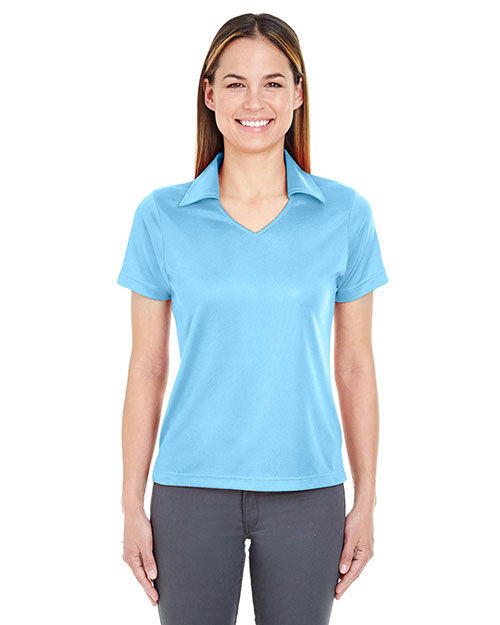 Ultraclub 8407    ® Ladies' Cool & Dry Sport Pullover  Columbia Blue at bigntallapparel