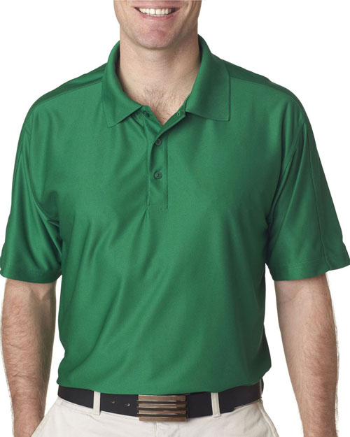 Ultraclub 8415    ® Men's Cool & Dry Elite Performance Polo  Augusta Green at bigntallapparel