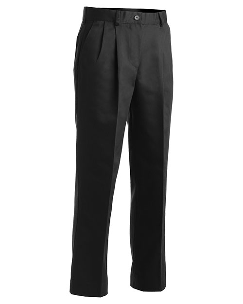 Edwards 8667 WOMEN'S UTILITY PLEATED PANT BLACK at bigntallapparel