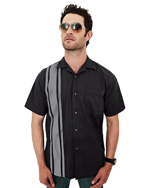 Tri-Mountain 909 Men Cobra Black/Gray at bigntallapparel