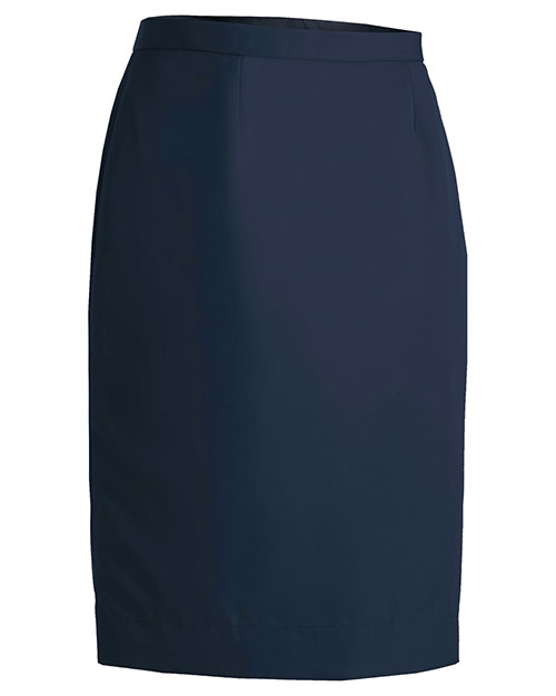 Edwards 9799 Women Polyester Skirt Navy at bigntallapparel