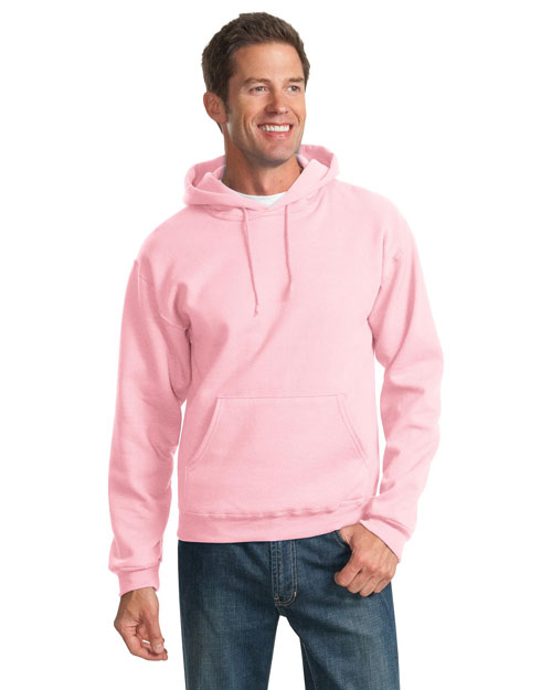 Jerzees 996M Mens Pullover Hooded SweatShirt Classic Pink at bigntallapparel