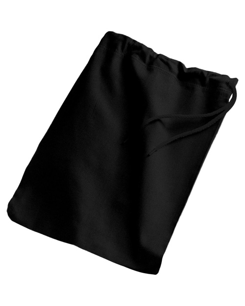 Port & Company B035 Shoe Bag Black at bigntallapparel