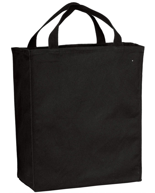 Port & Company B100 Grocery Tote Black at bigntallapparel