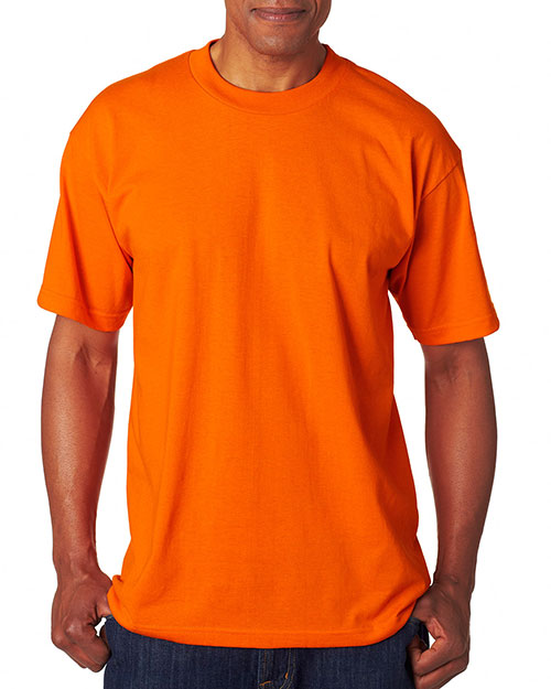 Bayside 1701 50/50 Tee Bright Orange at bigntallapparel