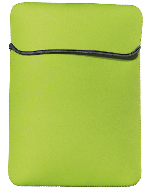 Port Authority BG650M 14.1' Basic Laptop Sleeve.  Lime at bigntallapparel