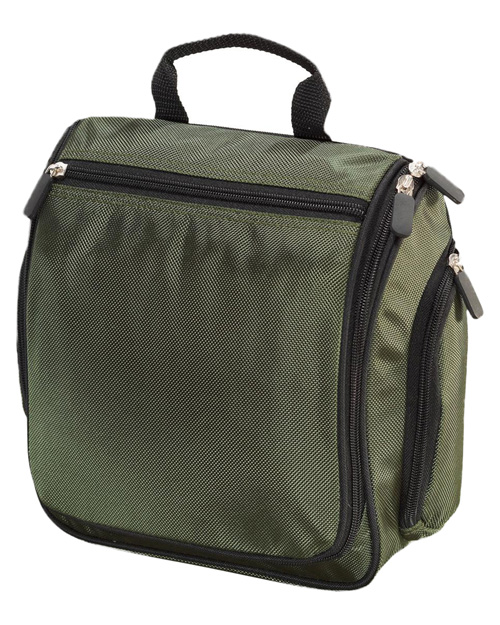 Port Authority BG700 Hanging Toiletry Kit.  Olive at bigntallapparel
