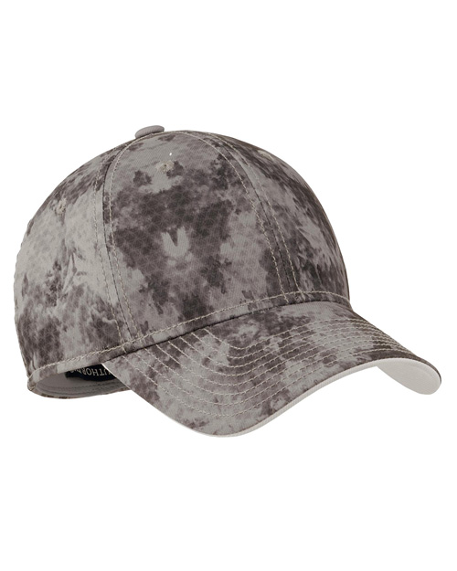 Port Authority C814 Game Day Camouflage Cap.  Grey at bigntallapparel