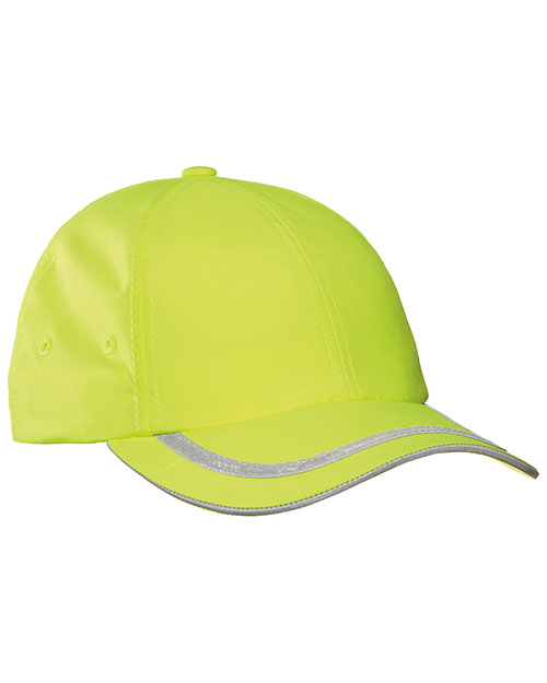 Port Authority C836   Safety Cap Safety  Yellow/ Reflective at bigntallapparel