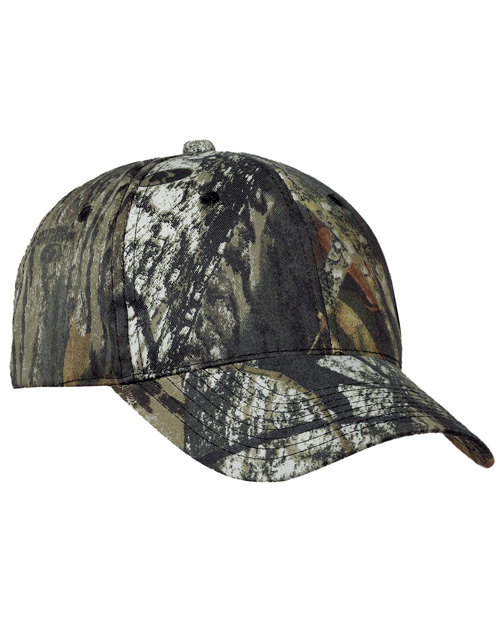 Port Authority C855 Mens Pro Camouflage Series Cap Mossy Oak New Break-Up at bigntallapparel