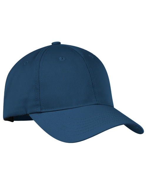 Port Authority C868  Nylon Twill Performance Cap Millenium Blue at bigntallapparel