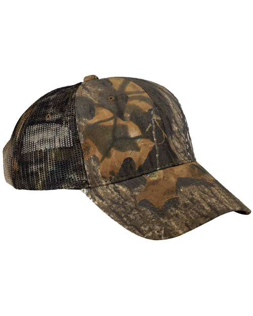 Port Authority C869 Mens Pro Camouflage Series with Mesh Back Mossy Oak New Break-Up at bigntallapparel
