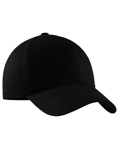 Port Authority Signature C879  Portflex 2nd Generation Structured Cap Black at bigntallapparel
