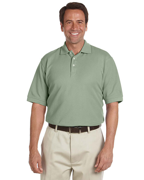 Chestnut Hill CH100 Mens Performance Plus Pique Polo Cactus at bigntallapparel