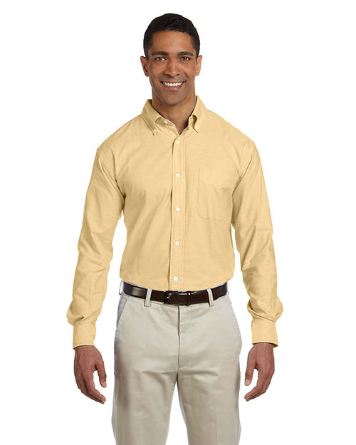 Chestnut Hill CH580 Mens Performance Plus Oxford Maize at bigntallapparel