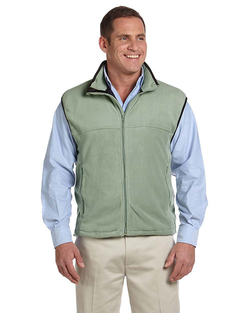 Chestnut Hill CH905 Mens Microfleece Vest Cactus at bigntallapparel