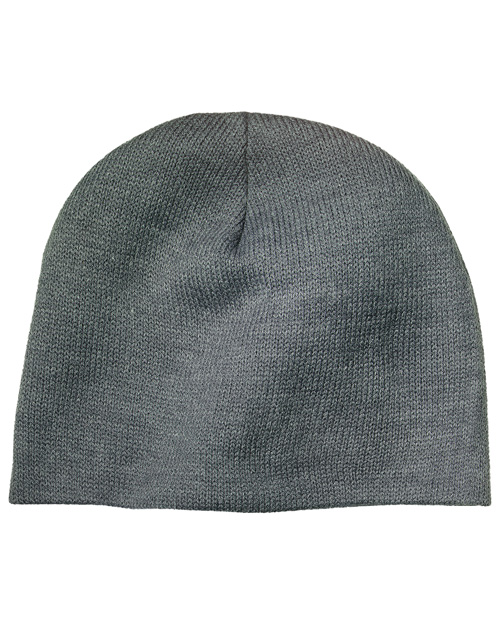 Port & Company CP91 Mens Beanie Cap Athletic  Oxford at bigntallapparel
