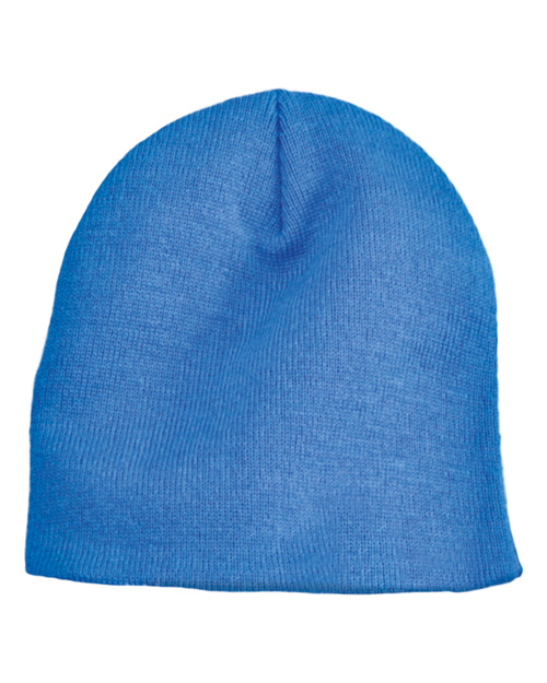 Port & Company CP94 Mens Knit Skull Cap Columbia Blue at bigntallapparel