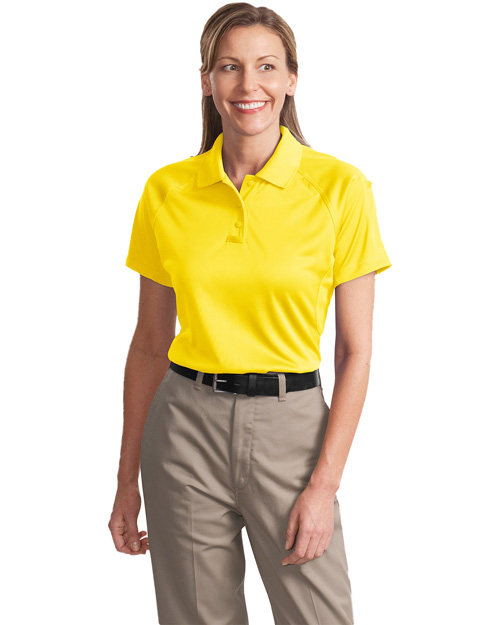 CornerStone CS411 Ladies Select Snag-Proof Tactical Polo.  Yellow at bigntallapparel