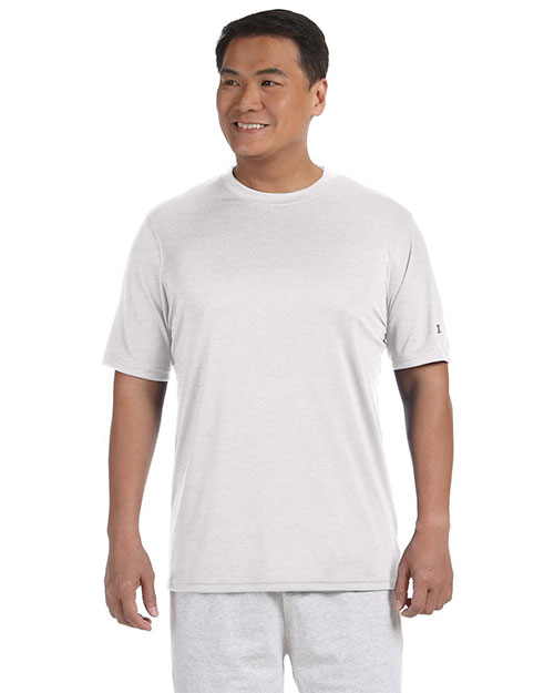 Champion CW22 Men's 4 oz. Double Dry® Performance T-Shirt WHITE at bigntallapparel