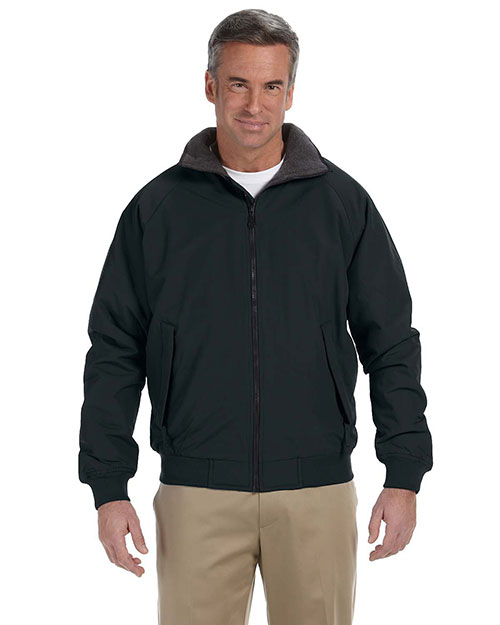 Devon & Jones D700 Mens Three Season Classic Jacket Black at bigntallapparel
