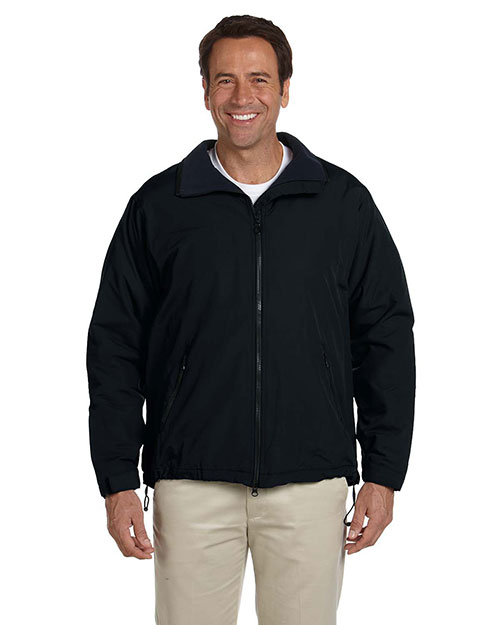 Devon & Jones D730 Mens Three Season Sport Jacket Black at bigntallapparel
