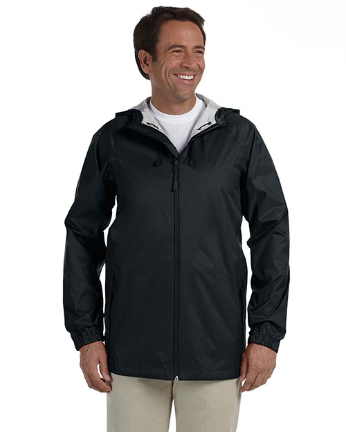Devon & Jones D756 Men's Waterproof Tech-Shell™ Torrent Jacket BLACK at bigntallapparel