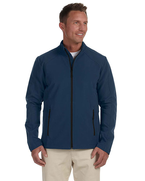 Devon & Jones D945 Men Bonded Tech-Shell Duplex Jacket New Navy at bigntallapparel