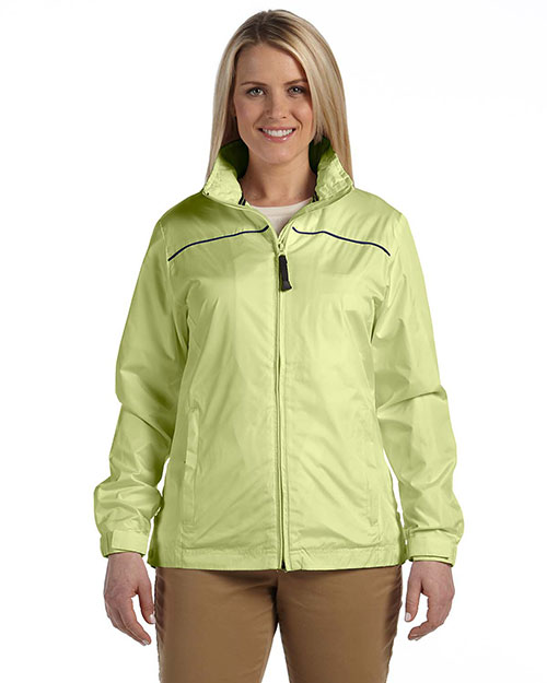 Devon & Jones DG795W Women Element Jacket Sprng Grass/New Nvy at bigntallapparel