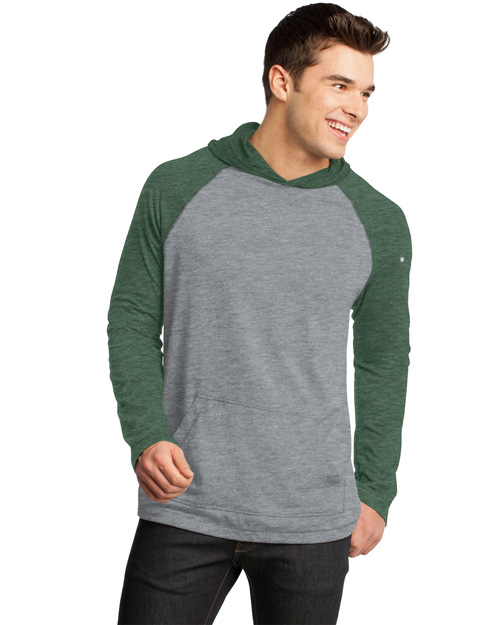 District Threads DT128 Men 50/50 Raglan Hoodie He Forgn/Hnckl at bigntallapparel