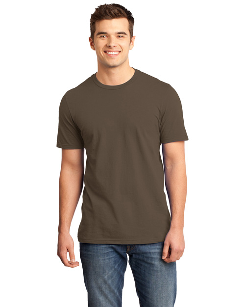 District Threads DT6000 District® Young Mens Very Important Tee  Brown at bigntallapparel