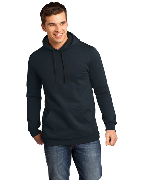 District Threads DT810 District® Young Mens Concert Fleece? Hoodie  New Navy at bigntallapparel