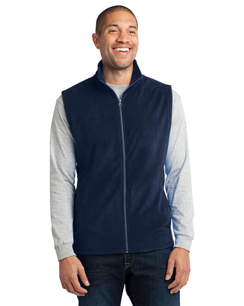 Port Authority F226 ® - Microfleece Vest. . True Navy at bigntallapparel