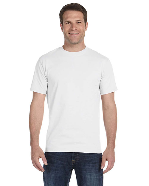 Fruit of the Loom HD6R 6 oz., 100% Cotton Lofteez HD® T-Shirt WHITE at bigntallapparel
