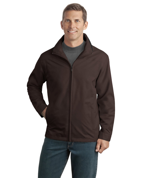 Port Authority J701 Mens Successor Jacket Dark Chocolate at bigntallapparel