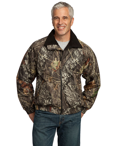 Port Authority J754MO Big Mens Mossy Oak Camouflage Challenger Jacket Mossy Oak New Break-Up/Black at bigntallapparel