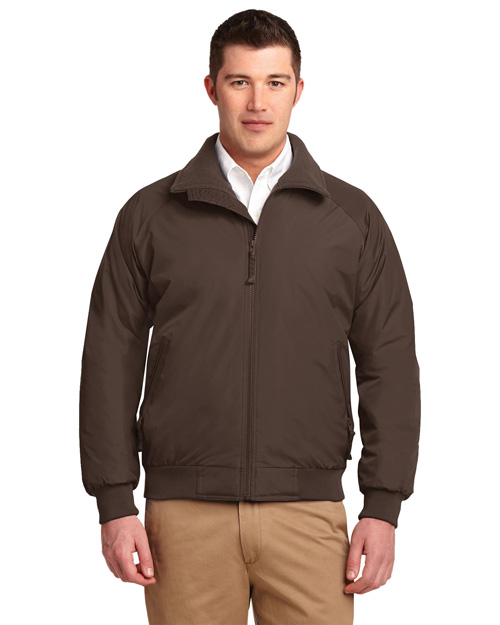 Port Authority J754 Men Challenger Jacket Chestnut Brown at bigntallapparel