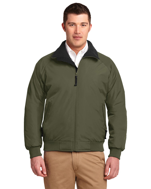 Port Authority J754 Mens Challenger Jacket Ivy Green/Black at bigntallapparel