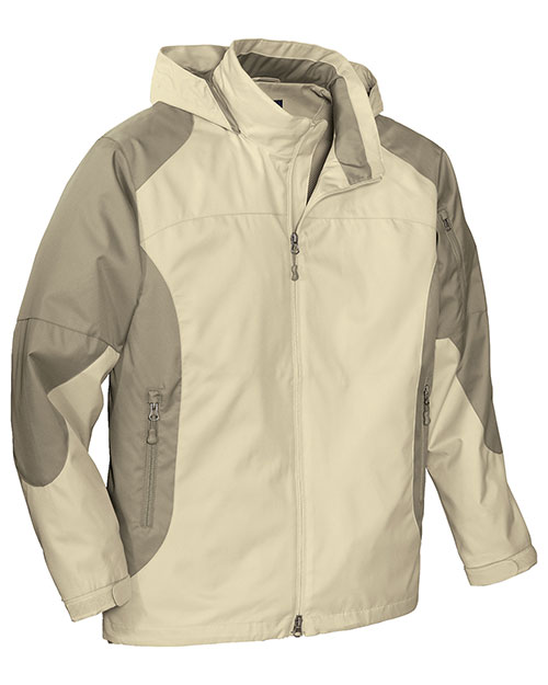 Port Authority J768 Mens Endeavor Jacket Beach/Sand Dune at bigntallapparel