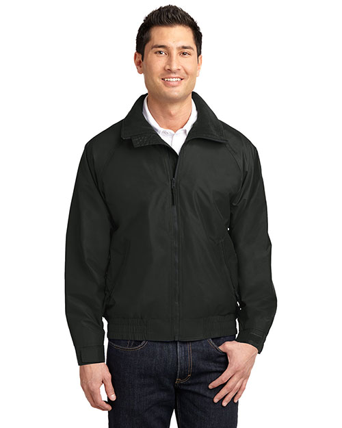 Port Authority JP54 Mens Competitor Jacket True Black/ True Black at bigntallapparel