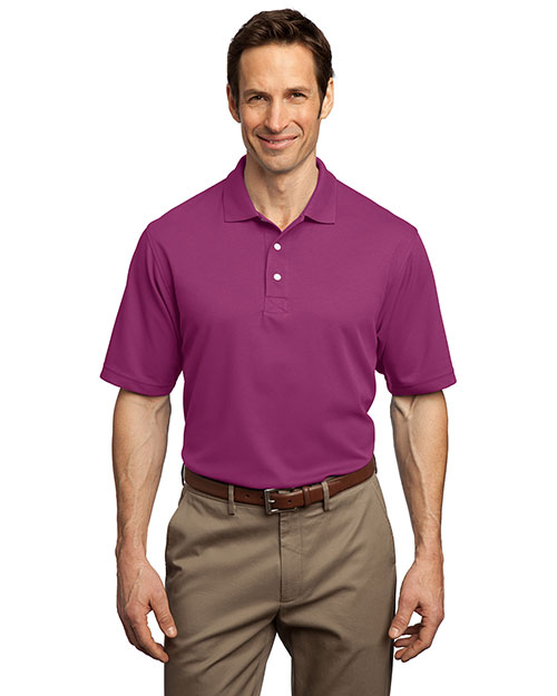 Port Authority K455SAN ® - Rapid Dry? Sport Shirt. K455 Boysenbry Pink at bigntallapparel