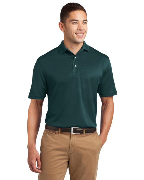 Sport-Tek TK469 ® Tall Dri-Mesh® Polo.  Dark Green at bigntallapparel