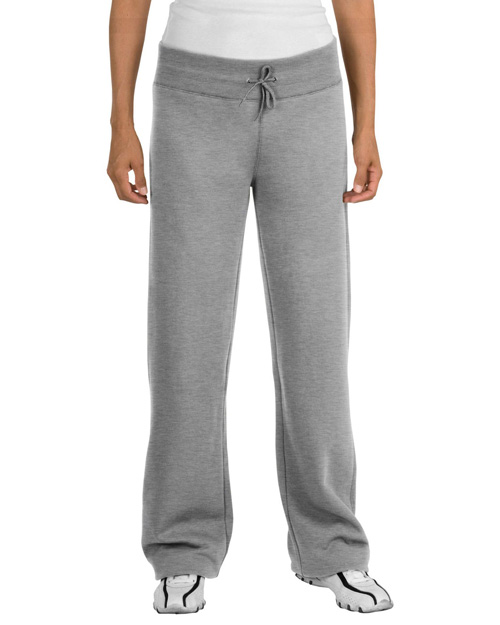 Sport-Tek L257 Ladies Fleece Pant.  Athletic Heather at bigntallapparel