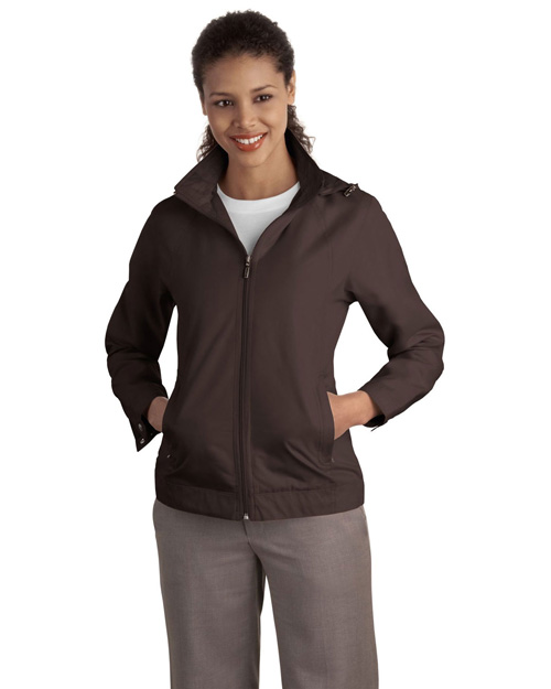Port Authority L701 Women Successor Jacket Dark Chocolate at bigntallapparel