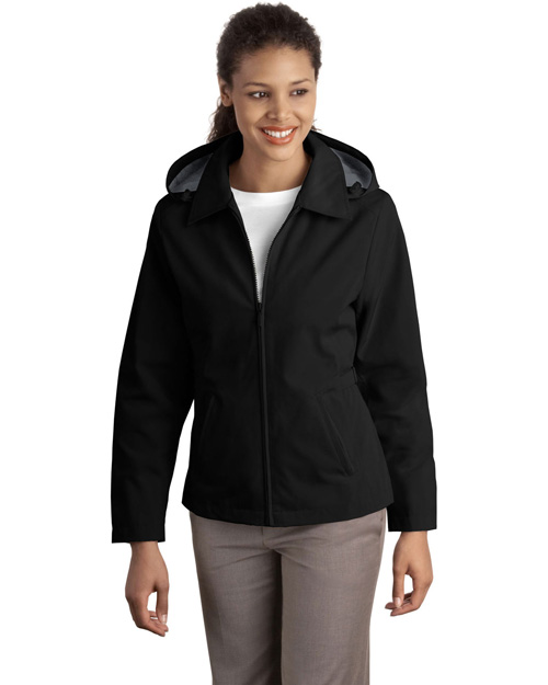 Port Authority L764 Ladies Legacy™  Jacket.   Black/Steel Grey at bigntallapparel