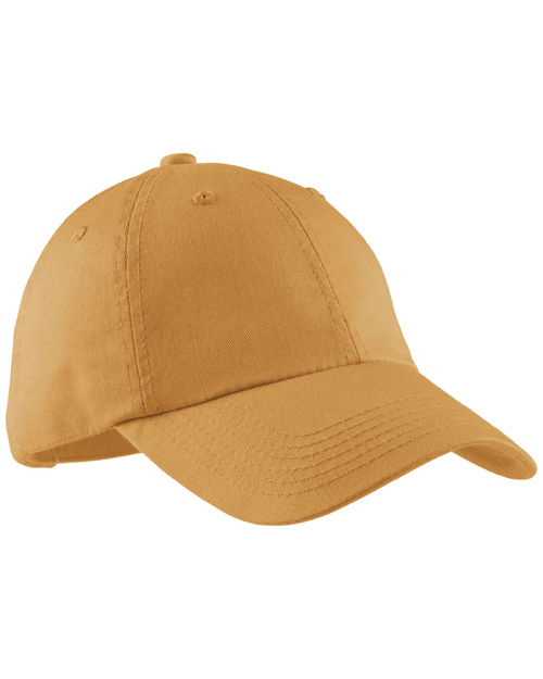 Port Authority LPWU Ladies Garment Washed Cap.  Dandelion at bigntallapparel