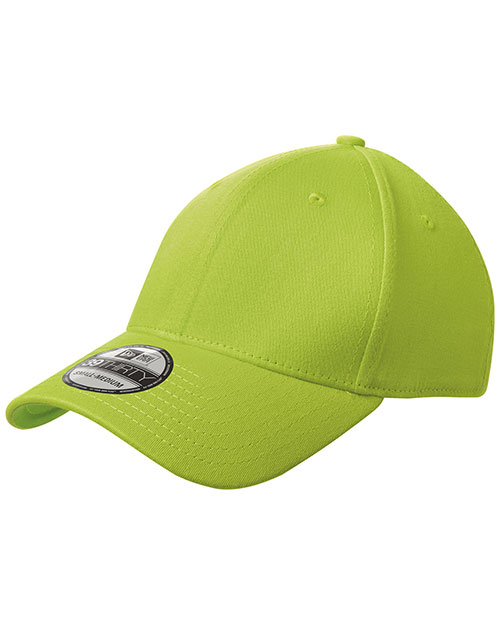 New Era NE1000  ®  - Structured Stretch Cotton Cap.   Cyber Green at bigntallapparel
