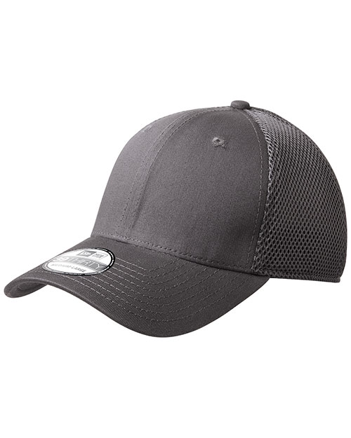 New Era NE1020  ®  - Stretch Mesh Cap.   Charcoal/Charcoal at bigntallapparel